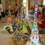 Team-building artistique Œuvre collective sur Tour Eiffel géante