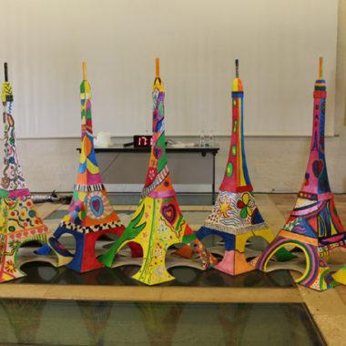 Eiffel Painting