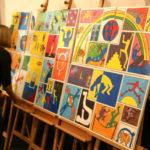 Team-building artistique Fresque collective